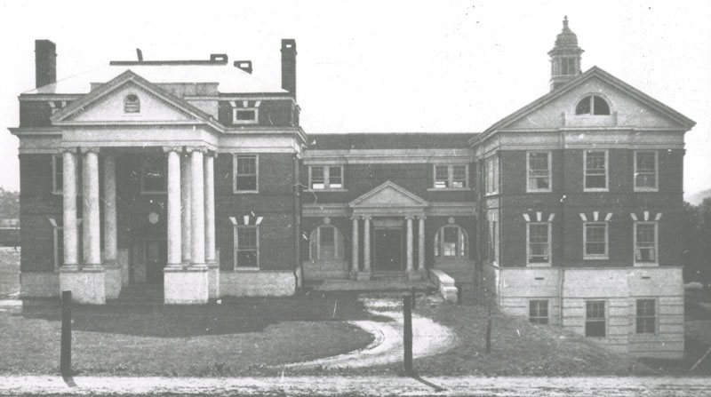 The University Hospital in 1911