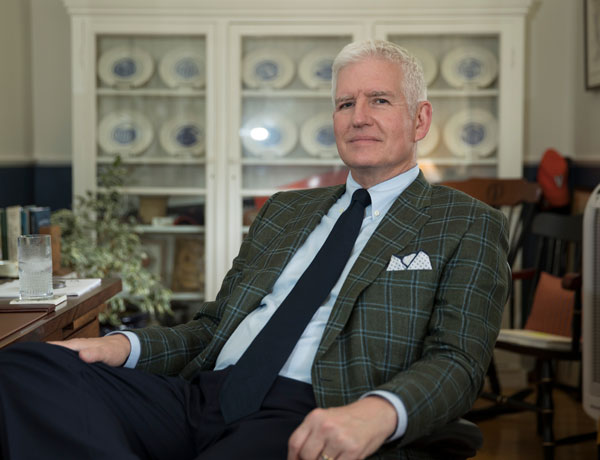 Dean of Students Allen Groves leaves legacy of enthusiasm, compassion