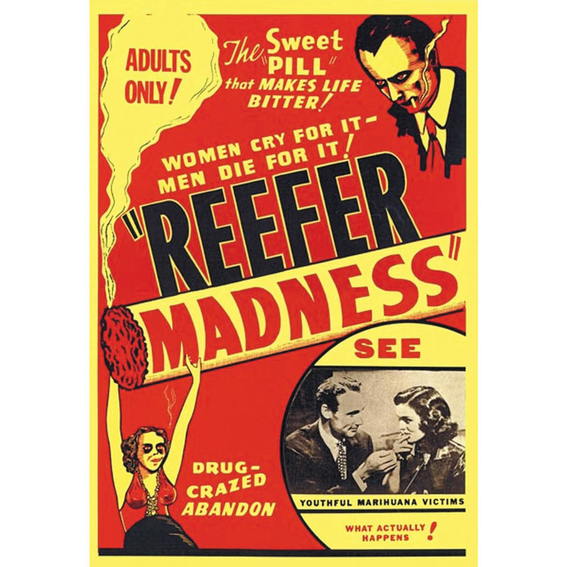 Movie poster for Reefer Madness