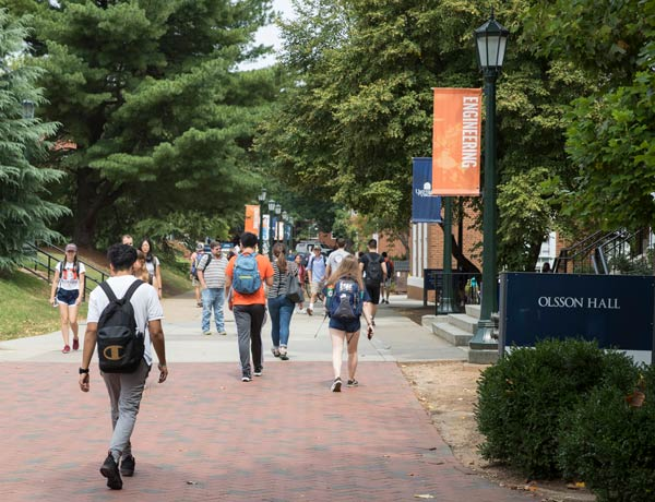 Masked and vaxed, UVA opens for fall