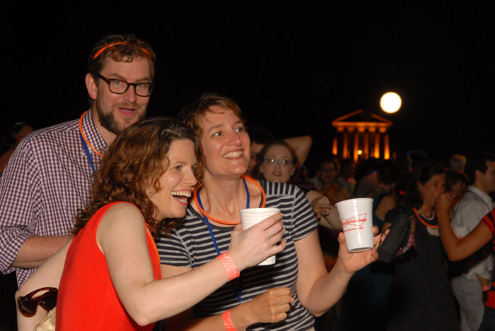 Reunions by the light of the Rotunda