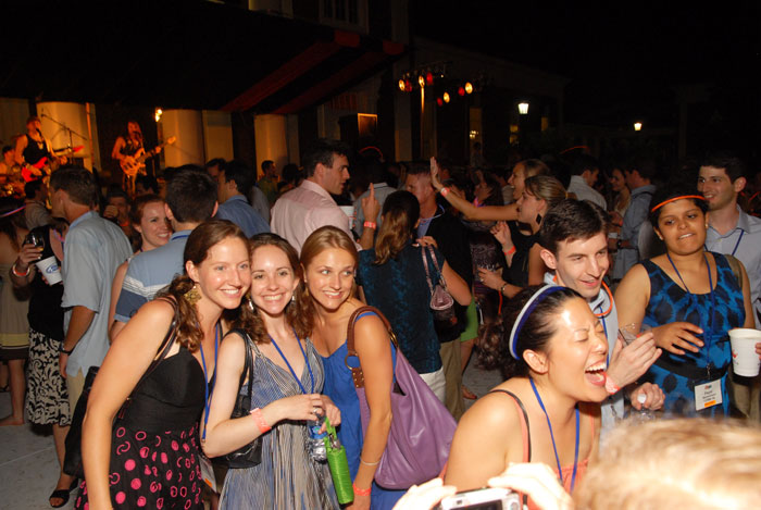 Band party at Reunions 2010
