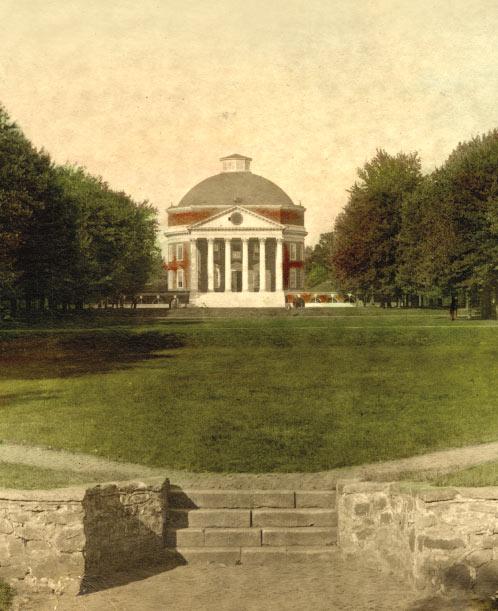 Rotunda and Lawn 1895