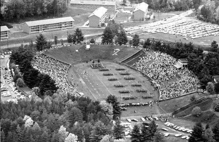 Scott Stadium 1964