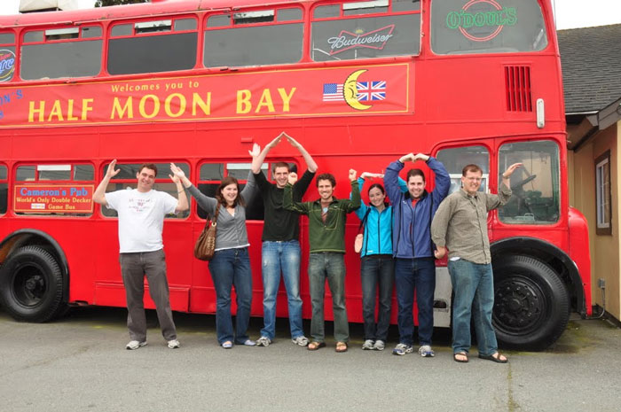 U-V-A H-O-O-S in Half Moon Bay, California
