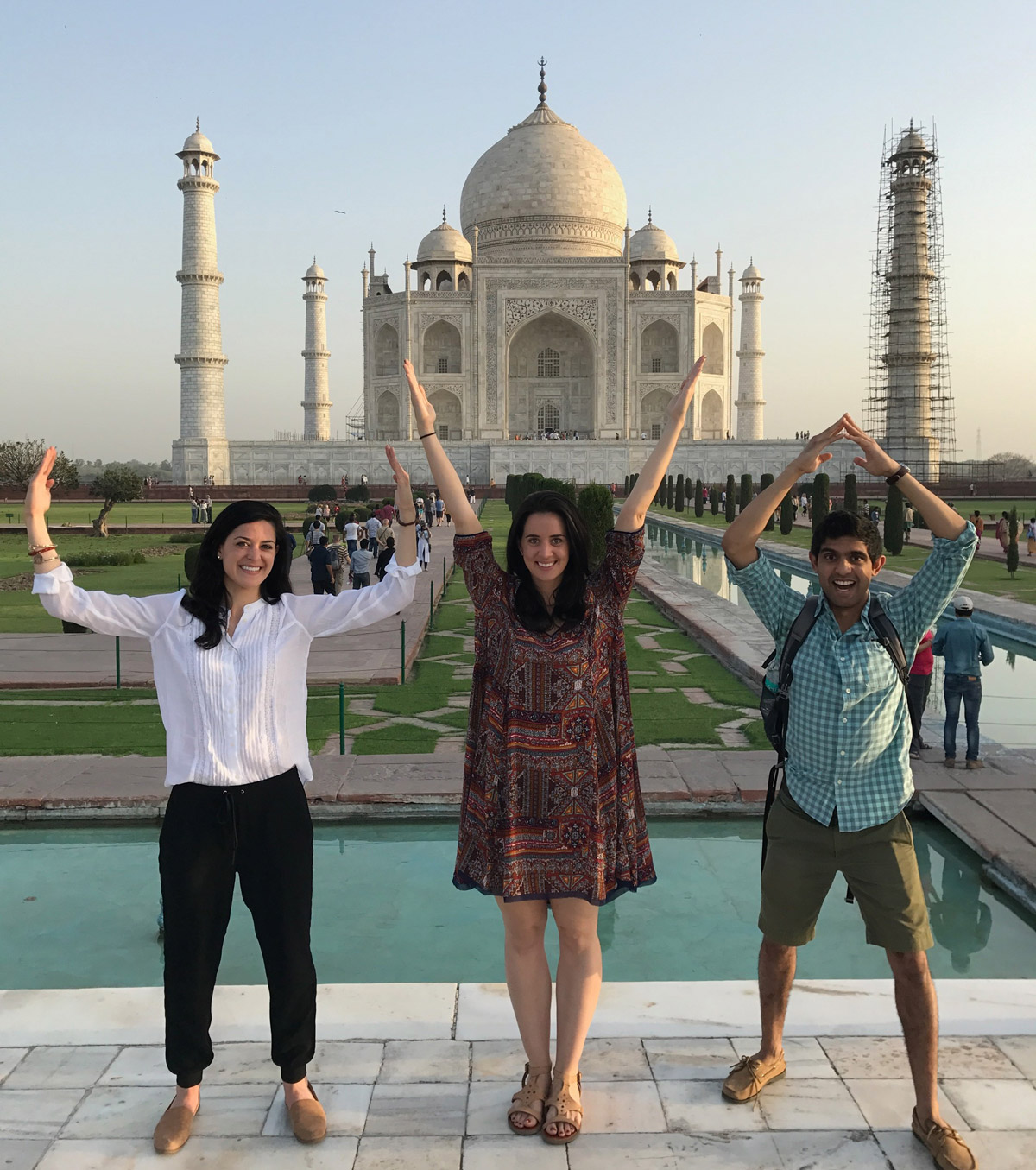 UVA at the Taj Mahal