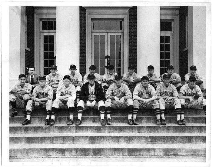 1943 University of Virginia Baseball Team