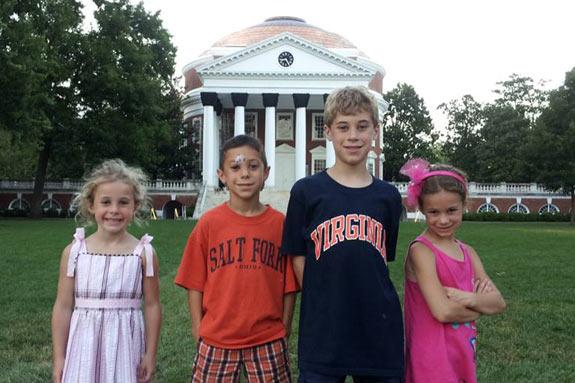 Future Wahoos at the Rotunda