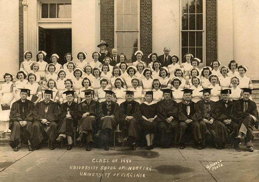 School of Nursing Class of 1940
