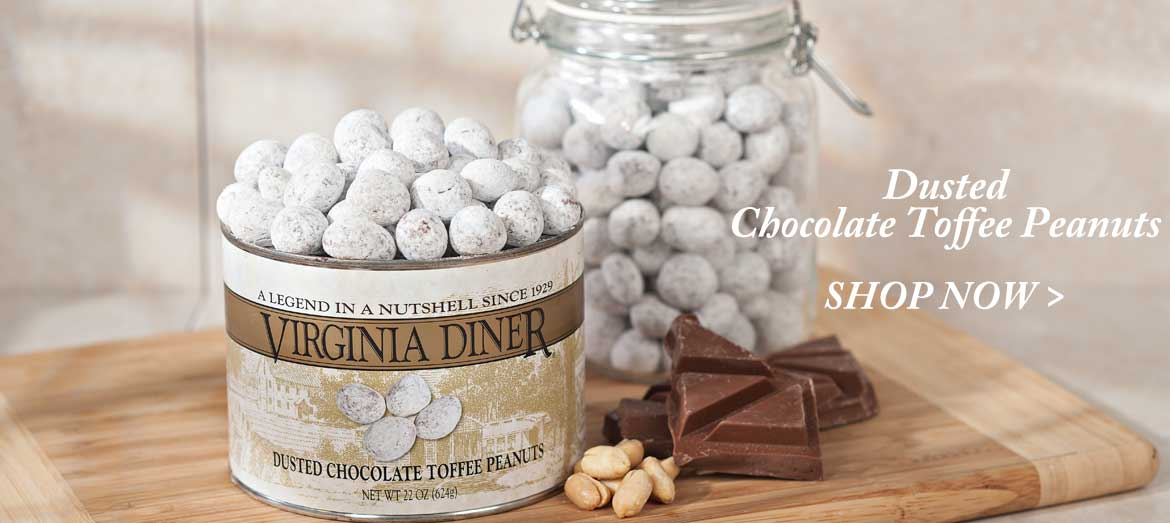 Dusted Chocolate Toffee