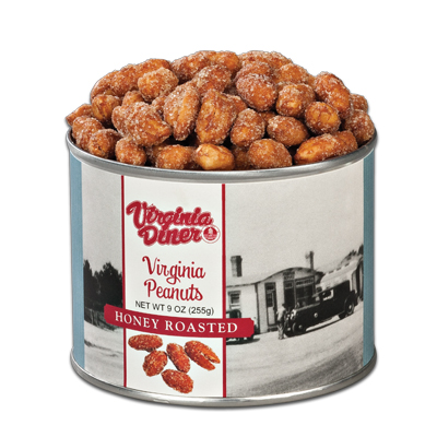 9 oz. Heritage Honey Roasted Peanuts