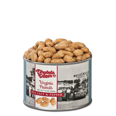 10 oz. Heritage Sea Salt & Pepper Peanuts