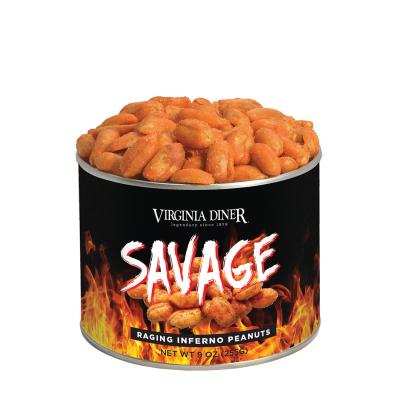 9 oz. Savage Raging Inferno Peanuts