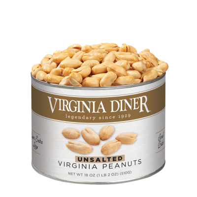 18 oz. Classic Unsalted Gourmet Virginia Peanuts