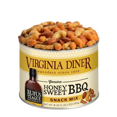 18 oz. Rufus Teague Honey BBQ Snack Mix