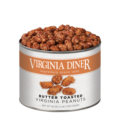 18 oz. Classic Butter Toasted Peanuts