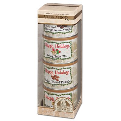 Holiday Tower Peanut Gift Set