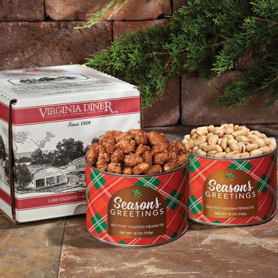 Season's Greetings Salted Peanuts & Butter Toasted Peanuts