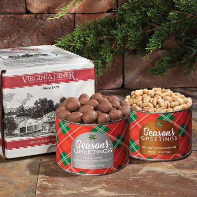 Season's Greetings  Peanuts & Chocolate Peanuts Duet