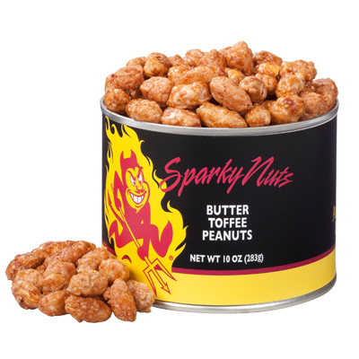 10 oz. Arizona State Butter Toffee Peanuts
