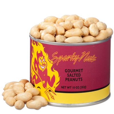 10 oz. Arizona State Salted Gourmet Peanuts