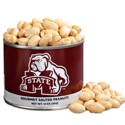 10 oz. Mississippi State Salted Gourmet Peanuts