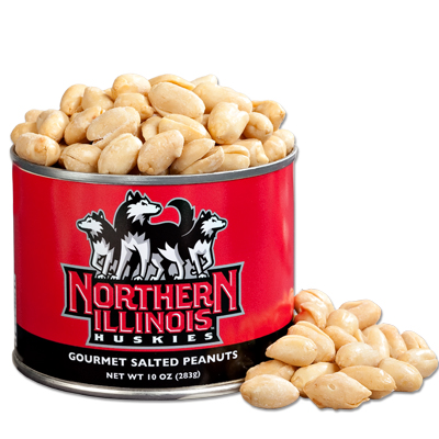 10 oz. Northern Illinois Salted Gourmet Peanuts