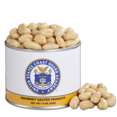 10 oz. Coast Guard Salted Gourmet Peanuts