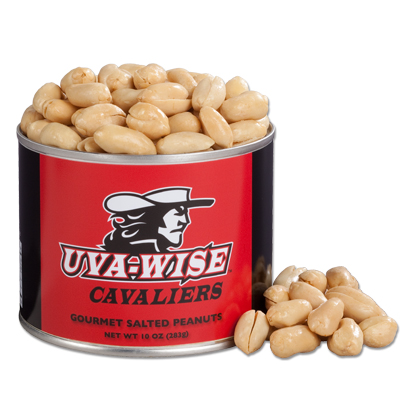 10 oz. UVA Wise Salted Gourmet Peanuts
