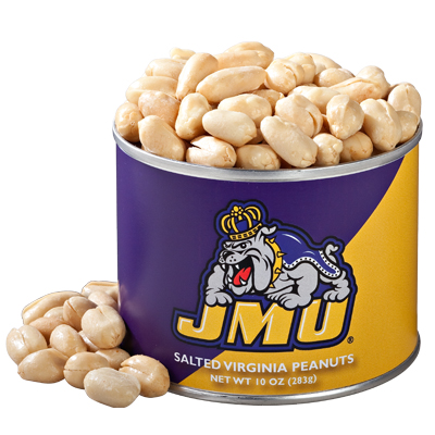 10 oz. James Madison Salted Gourmet Peanuts