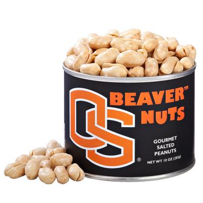 10 oz. Oregon State Salted Gourmet Peanuts