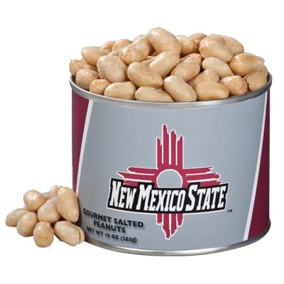10 oz. New Mexico State Salted Gourmet Peanuts