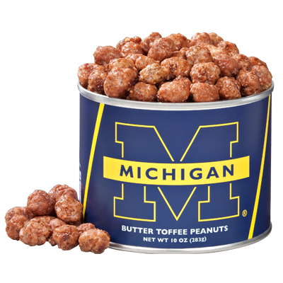 10 oz. Michigan Butter Toffee Peanuts
