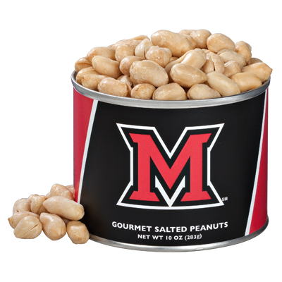 10 oz. Miami University Salted Gourmet Peanuts (Ohio)