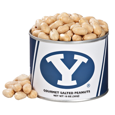 10 oz. Brigham Young Salted Gourmet Peanuts