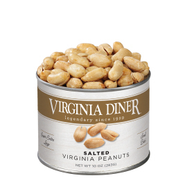 10 oz. Classic Salted Gourmet Virginia Peanuts