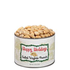 10 oz. Holiday Salted Gourmet Virginia Peanuts