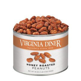 Honey Roasted Peanuts - 18 oz.
