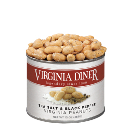 10 oz. Sea Salt & Pepper Peanuts