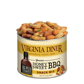 9 oz. Rufus Teague Honey BBQ Snack Mix