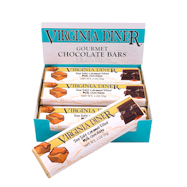 Sea Salt Caramel Chocolate Bars, Milk Chocolate 12 bars