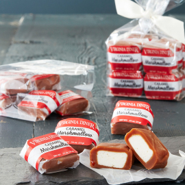 Caramel Marshmallows, 12ct Gift Bag