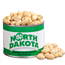 10 oz. North Dakota Salted Gourmet Peanuts