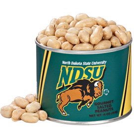 10 oz. North Dakota State Salted Gourmet Peanuts