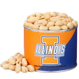 10 oz. Illinois Salted Gourmet Peanuts