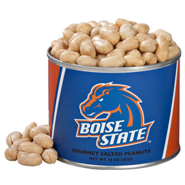 10 oz. Boise State Salted Gourmet Peanuts