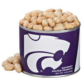 10 oz. Kansas State Salted Gourmet Peanuts