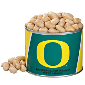 10 oz. Oregon Salted Gourmet Peanuts