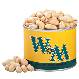 10 oz. William & Mary Salted Gourmet Peanuts