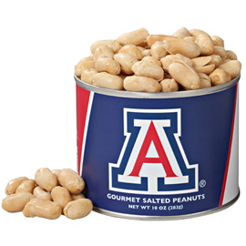 10 oz. Arizona Salted Gourmet Peanuts